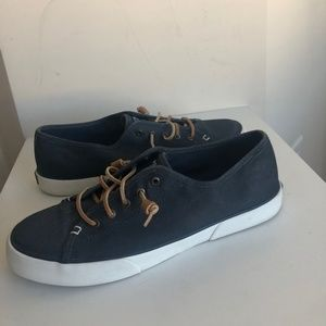 Sperry Topsider Casual Slip On Shoe Navy Blue 11